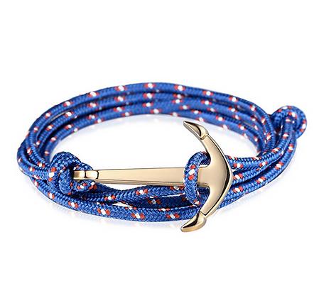 Bracelet Ancre bleu Accessoire Studio accessoires
