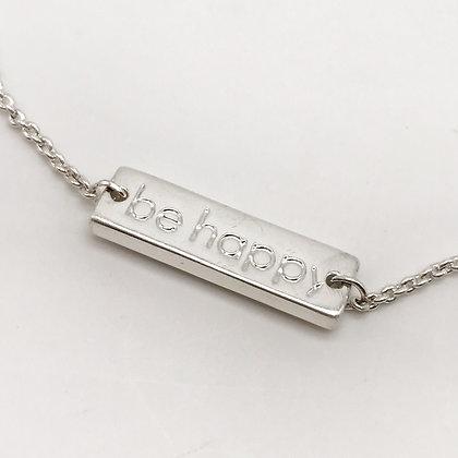 Bracelet chainette Be Happy Accessoire Studio accessoires