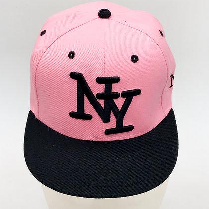 Casquette New York accessoire studio rose