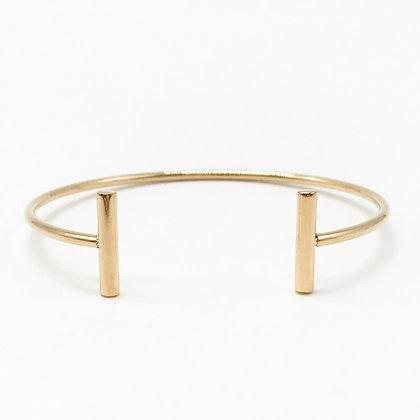 Bracelet jonc doré Accessoire Studio accessoires