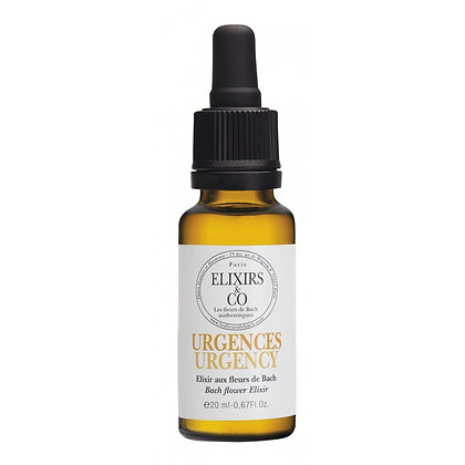 Elixir & Co, élixir bio Urgences  20ml