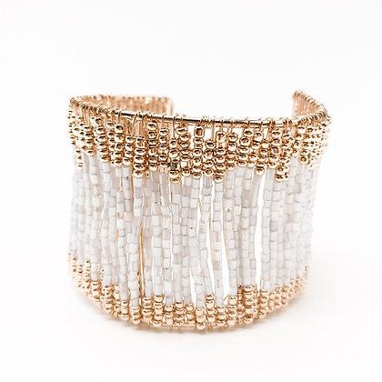 Bracelet manchette perles Accessoire Studio accessoires