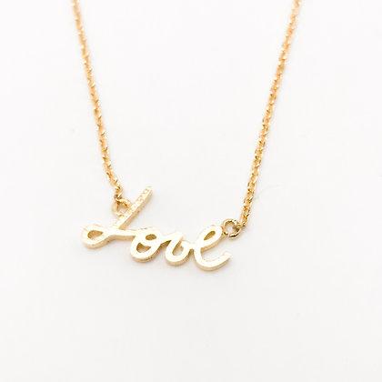 Collier Love Accessoire Studio accessoires