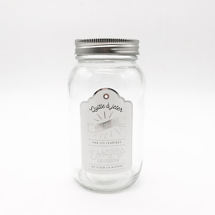 accessoire studio tirelire jar verre accessoires déco