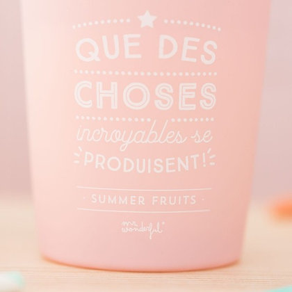 Bougie parfumée Mr Wonderfull Accessoire studio