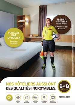 Ilario Magali pour B&B Hotel