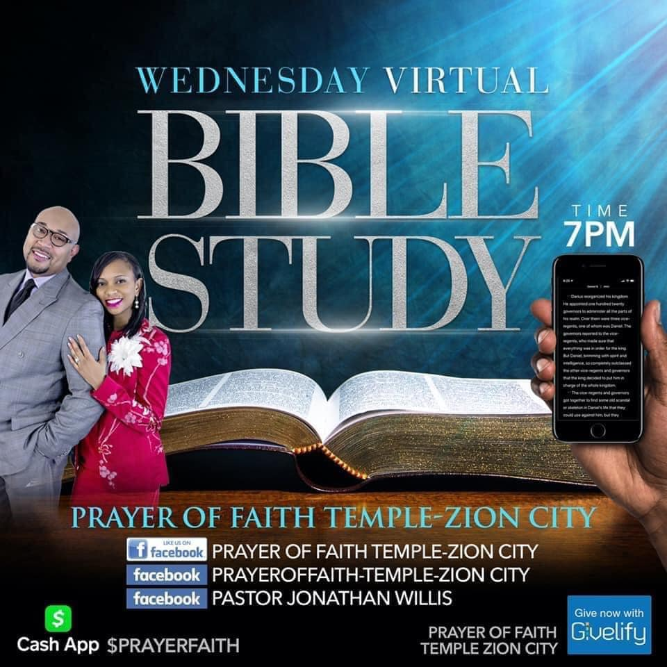 Wednesday Virtual Bible Study