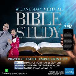 Wednesday Virtual Bible Study