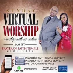 Sunday Virtual Worship Service