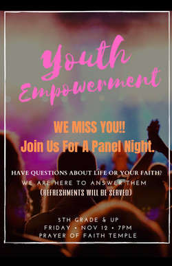 YOUTH EMPOWERMENT PANEL