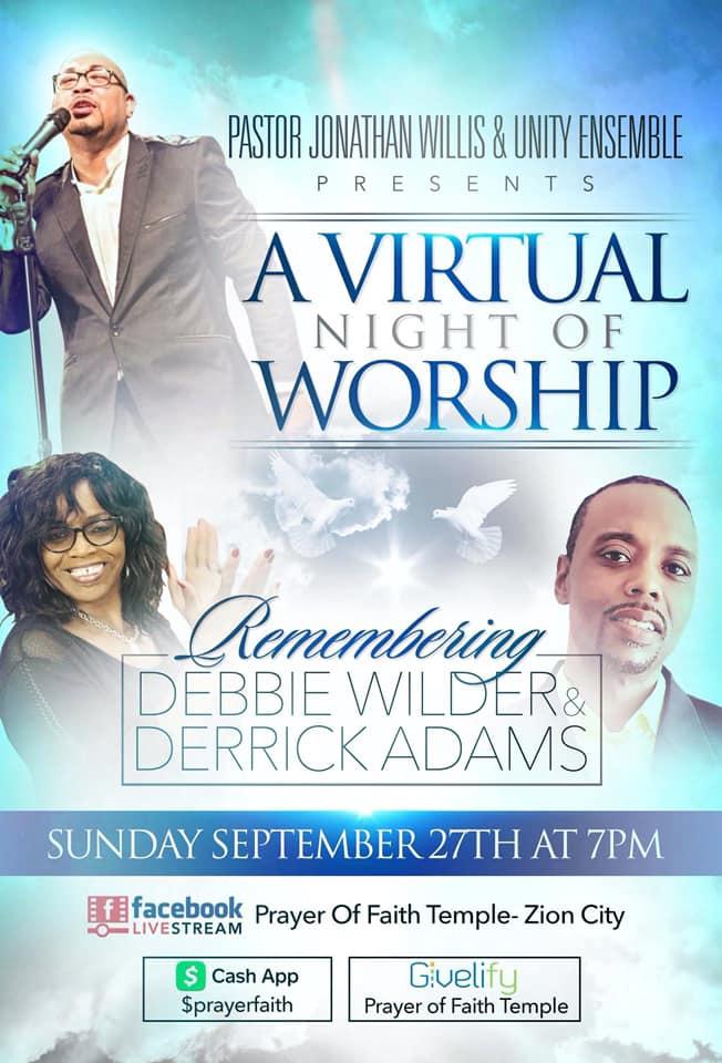 A Virtual Night of Worship