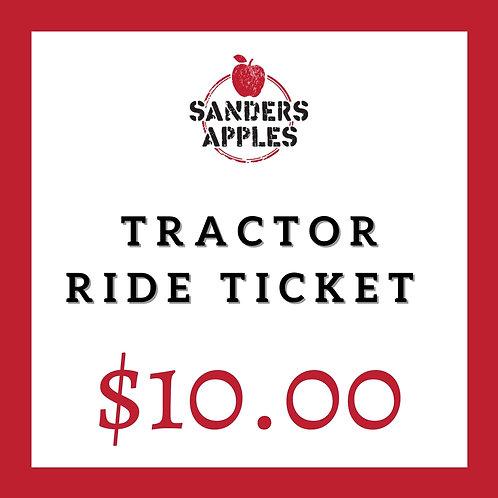 Tractor Ride Ticket