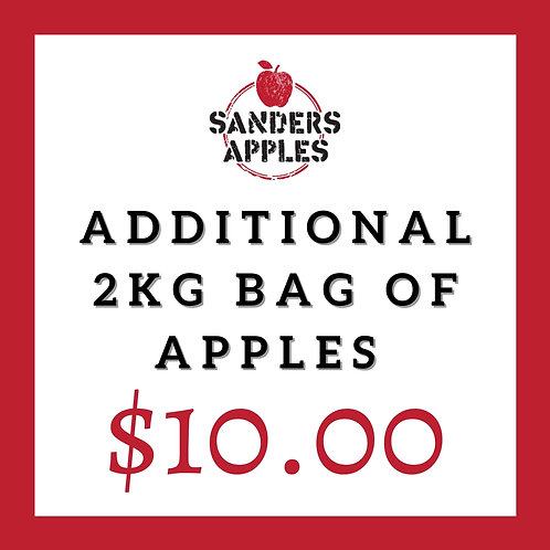 Additional 2kg Bag of Apples