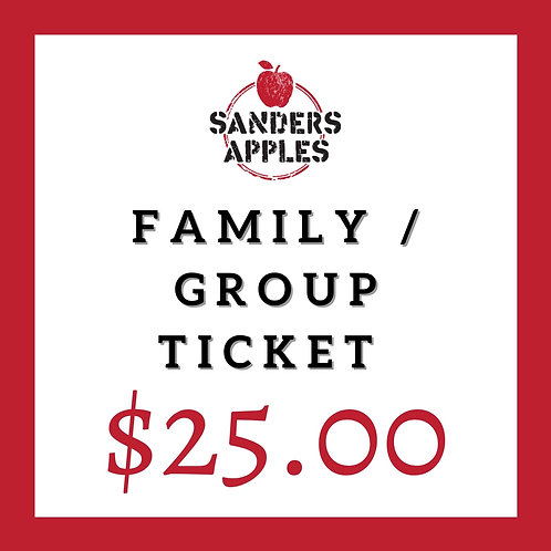 Family / Group Ticket