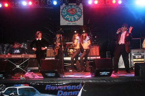 Live on Stage Reverend Danny & Siste