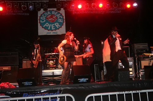Live on Stage Reverend Danny & Sister Blues