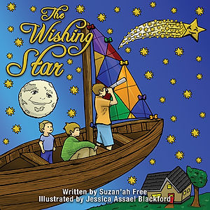 Suzan'ah Free The Wishing Star Book