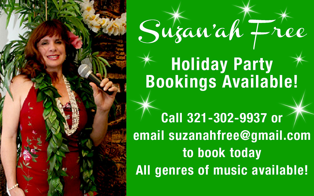 Holiday Party Bookings Available