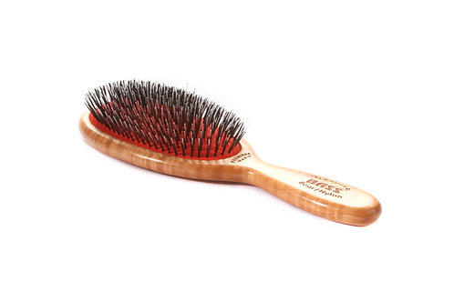 Premiere Series PMD | Medio Oval with Ultra Premium Natural Bristle + Nylon Pin
