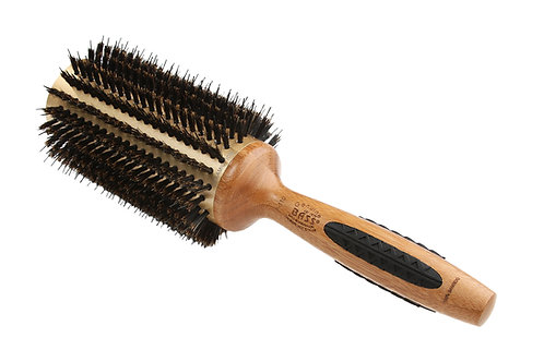 The P Series P110 | Ex Lrg Deluxe Round Brush with Natural Bristle + Nylon Pins