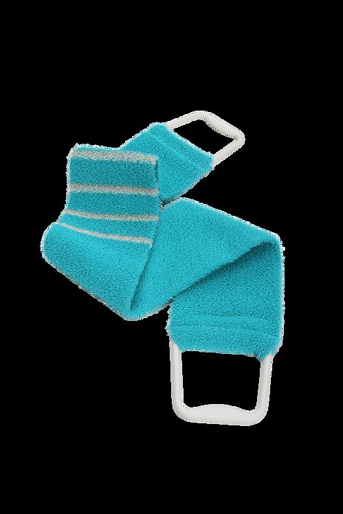 Bass 1143 Teal  |  Premium Nylon Body Exfoliating Strap