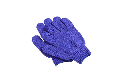 Bass S58 Royal Blue  |  Premium Nylon Body Exfoliating Gloves