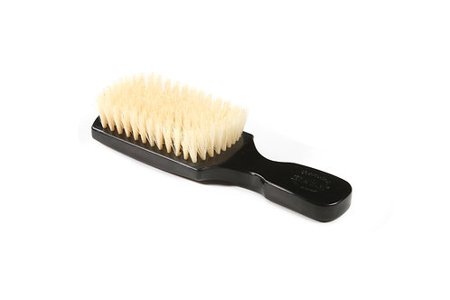 The Wave Brush 153FS Jet Black  |  Club Style with Soft Natural Bristles