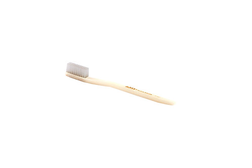 Bass TB5/6 Pearl | Toothbrush with Acrylic Handle and Nylon Bristles