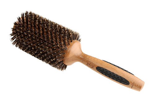 The P Series P105 | Extra Large Deluxe Round Brush with Natural Bristles