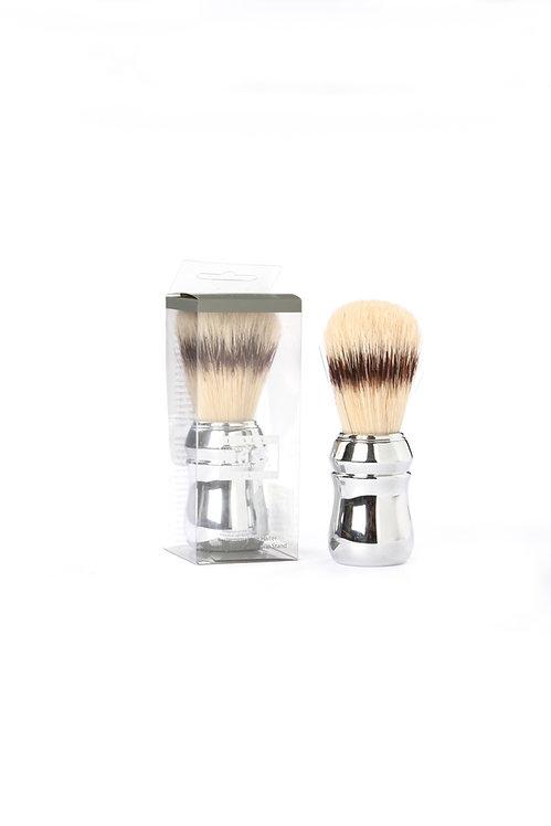 Bass SB3 Chrome     Shaving Brush with Natural Bristles