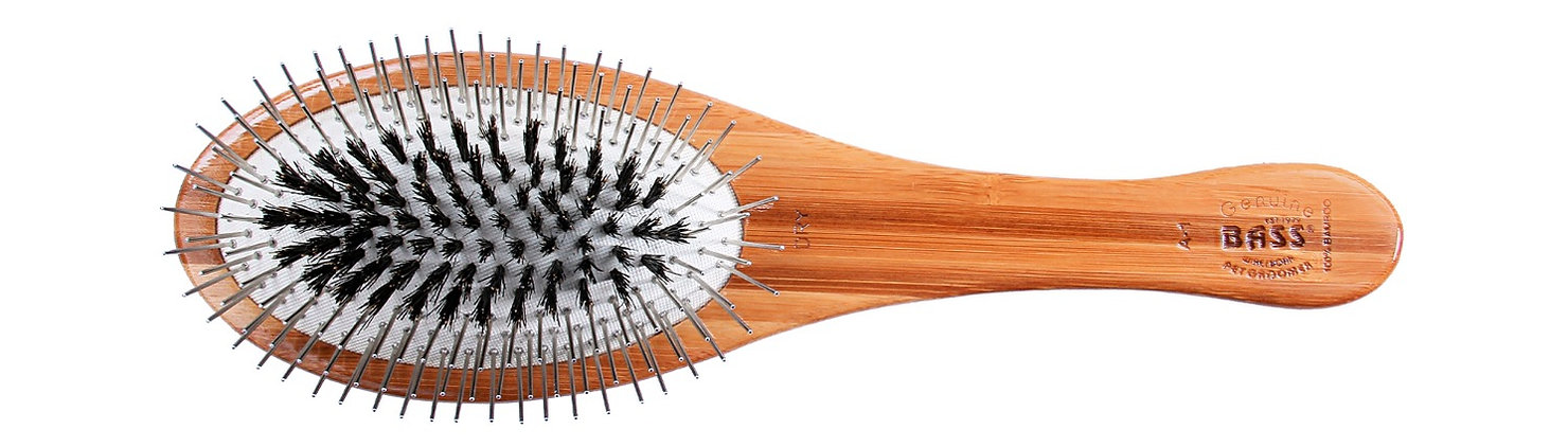 The Hybrid Groomer Pet Brush by Bass Brushes