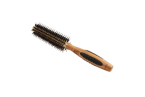 The P Series P107 | Small Deluxe Round Brush with Natural Bristle + Nylon Pins