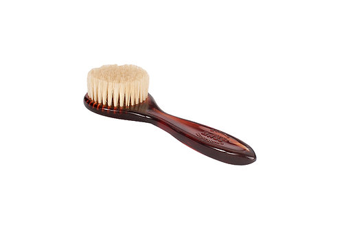 Bass 704 Tortoise Shell  |  Facial Brush with Firm Natural Bristles
