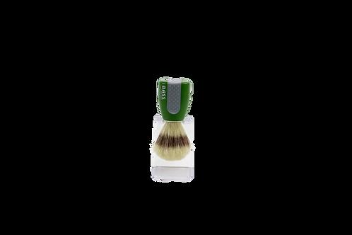 Bass SB10 Green  |  Shaving Brush with Natural Bristles