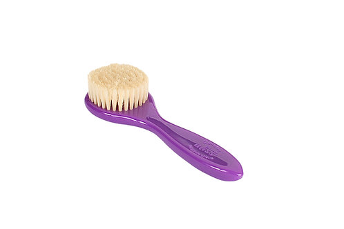 Bass 704 Royal Purple  |  Facial Brush with Firm Natural Bristles