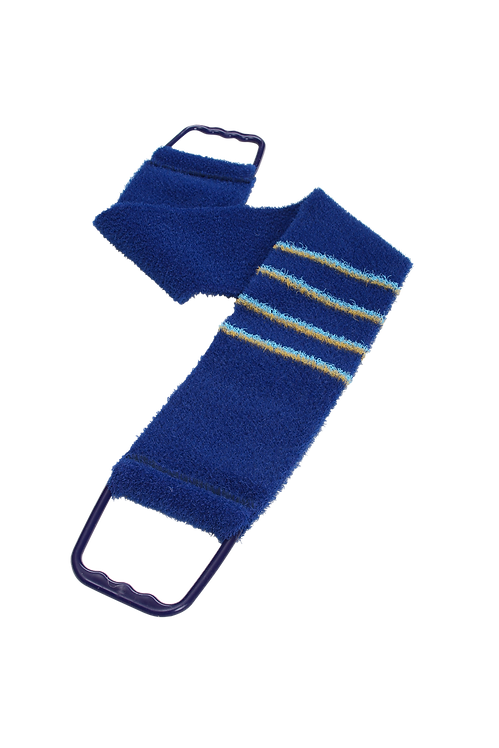 Bass 1143 Navy Blue  |  Premium Nylon Body Exfoliating Strap