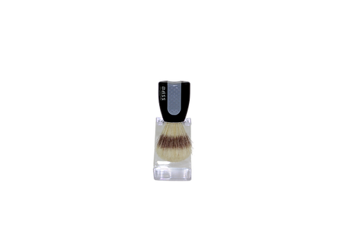 Bass SB10 Jet Black  |  Shaving Brush with Natural Bristles