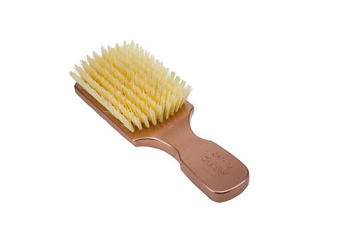The Wave Brush 153FS Rose Gold  |  Club Style with Soft Natural Bristles