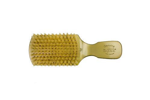 The Wave Brush 153FS Gold  |  Club Style with Soft Natural Bristles