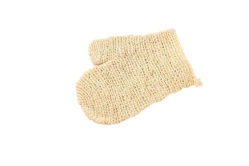 Bass S55D  |  Handmade Natural Sisal Body Mitt