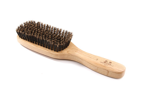 R.S. Stein 106 Oak Wood | 9 Row Hairbrush with Soft Natural Bristles