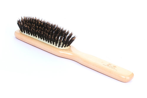 R.S. Stein 111 Maple Wood | 7 Row Hairbrush with Firm Natural Bristles
