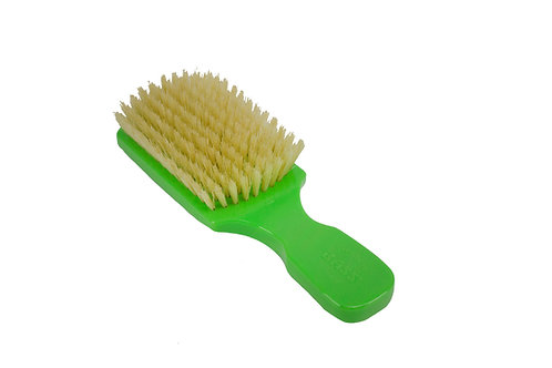 The Wave Brush 153FS Gorgeous Green  |  Club Style with Soft Natural Bristles