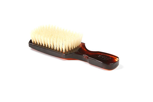 The Wave Brush 153FS Tortoise Shell  |  Club Style with Soft Natural Bristles