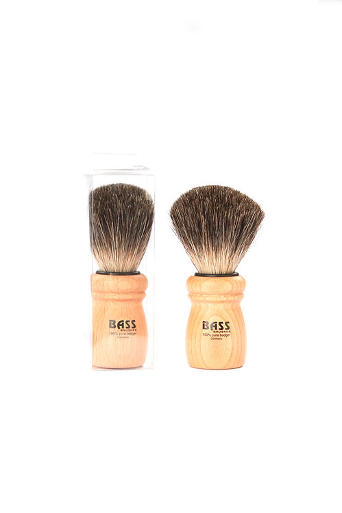 Bass SB13 Beechwood  |  Shaving Brush with Natural Badger Bristles