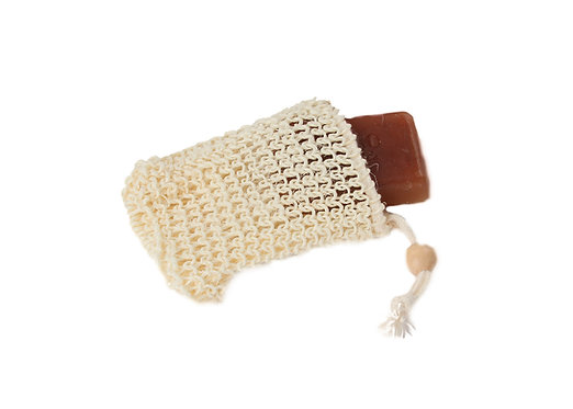 Bass M3  |  Natural Sisal Body Soap Pouch