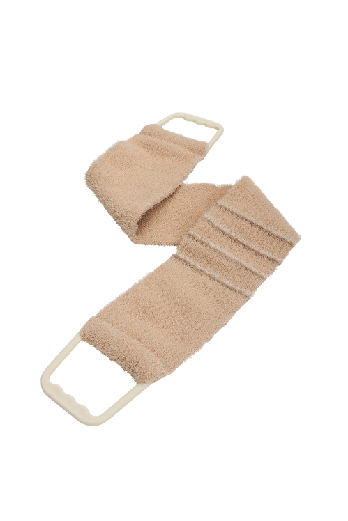 Bass 1143 Brown    Premium Nylon Body Exfoliating Strap