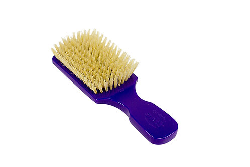 The Wave Brush 153FS Royal Purple  |  Club Style with Soft Natural Bristles