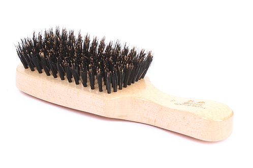 R.S. Stein 101 Maple Wood | Classic Club Hairbrush with Firm Natural Bristles