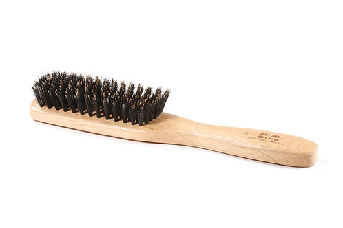 R.S. Stein 103 Oak Wood | 8 Row Hairbrush with Firm Natural Bristles